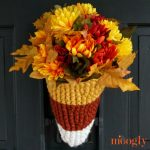 Candy Corn Door Basket