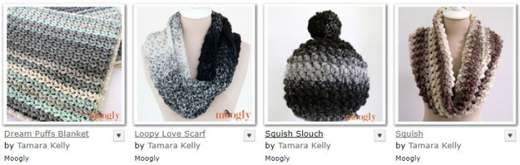 Free Crochet Patterns on Moogly made with Lion Brand Scarfie