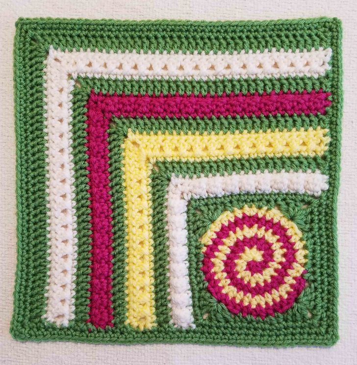 Block #21 in the Moogly Afghan CAL for 2017, courtesy of Andee Graves!
