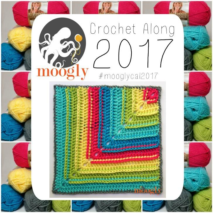 MooglyCAL2017 Block #22, courtesy of Jennifer Dickerson of Fiber Flux!