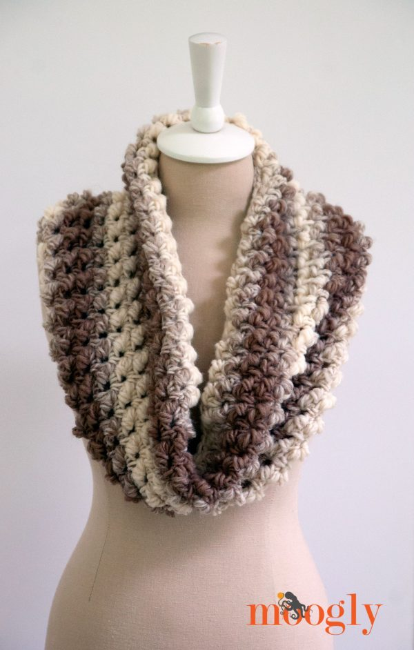 10 Free Crochet Patterns Made With Lion Brand Scarfie Moogly