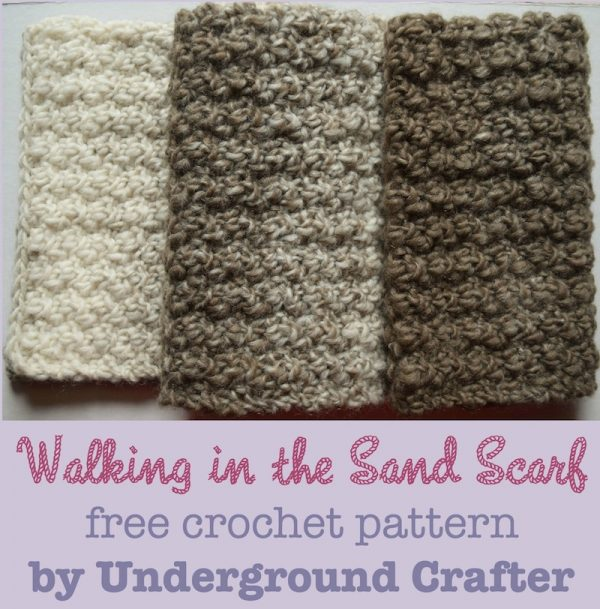 10 Free Crochet Patterns made with Lion Brand Scarfie - Roundup on Mooglyblog.com!