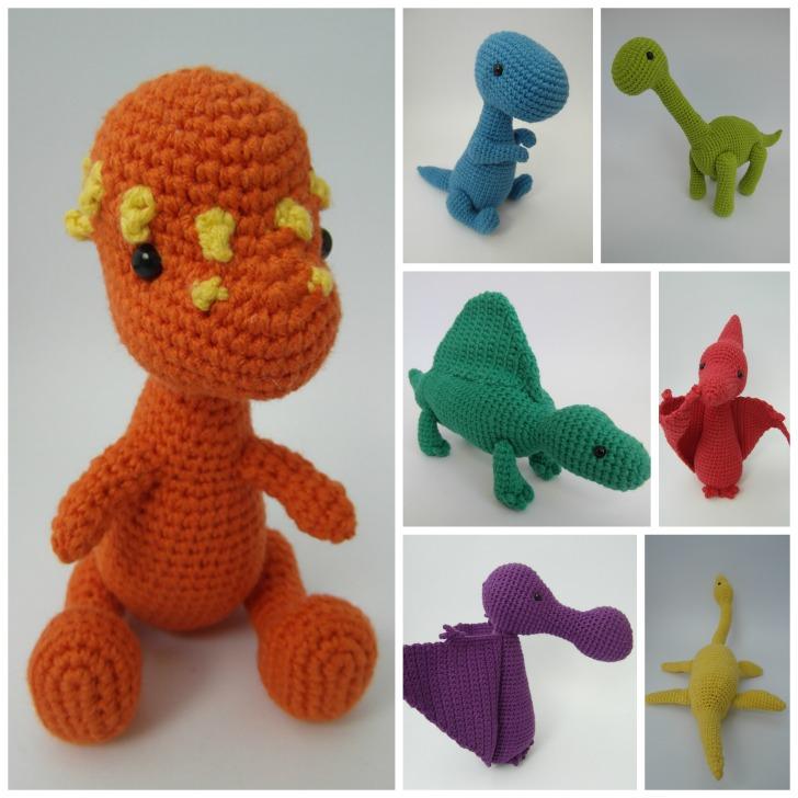Dinosaur Amigurumi - review on Mooglyblog.com!