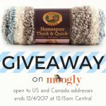 Lion Brand Homespun Thick & Quick Yarn Giveaway!