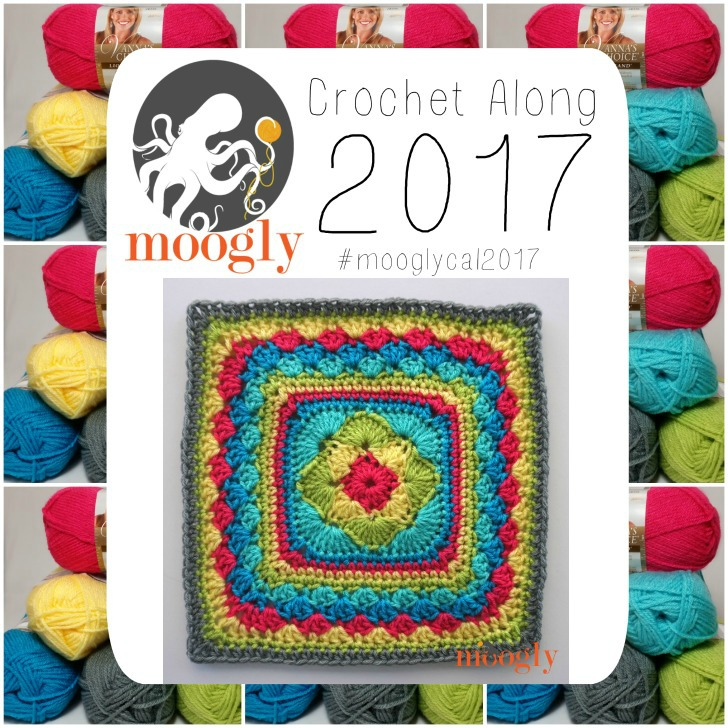 MooglyCAL2017 #24 by Linda Dean - get all 24 FREE patterns for 2017 on Mooglyblog.com!