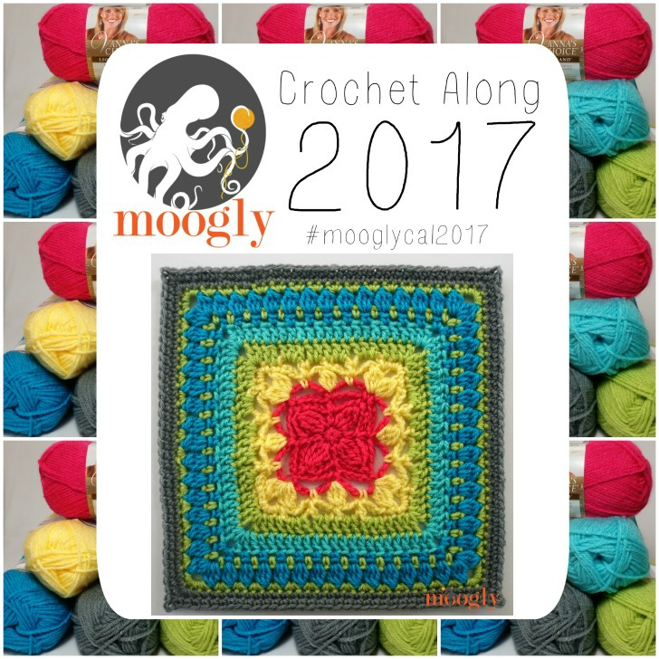 MooglyCAL2017 - Block #23 courtesy of Petals to Picots! Get all 24 squares for the year on Mooglyblog.com! (ALL FREE)