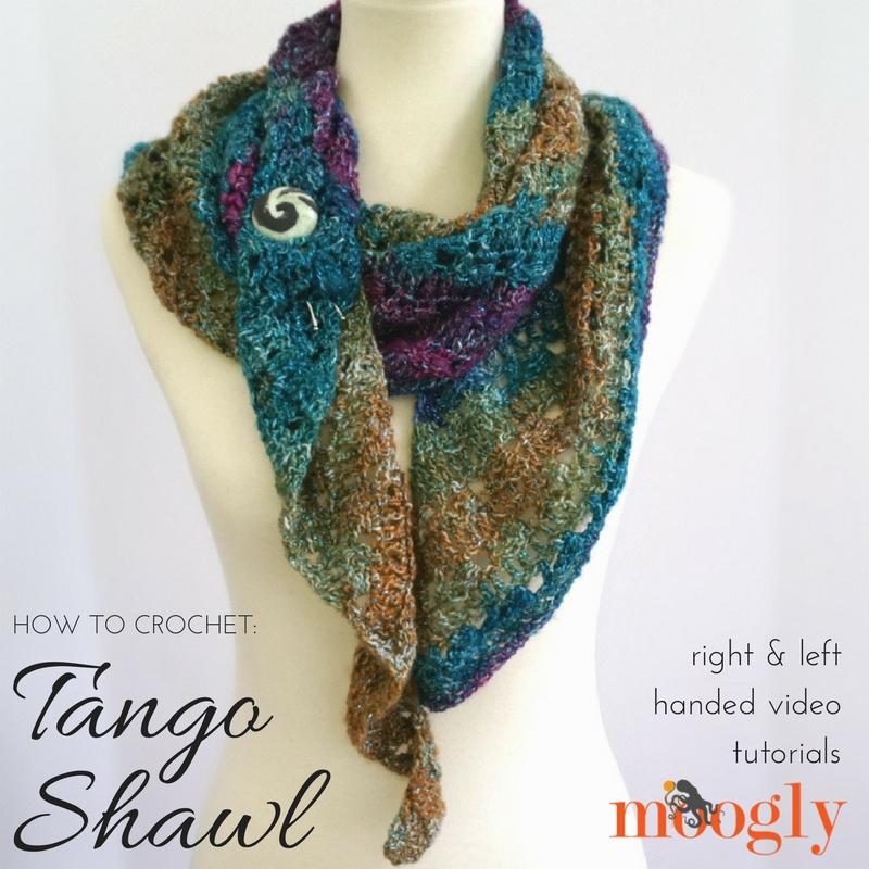 Tango Shawl Tutorial Moogly