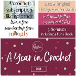 A Year in Crochet from Cre8tion Crochet!