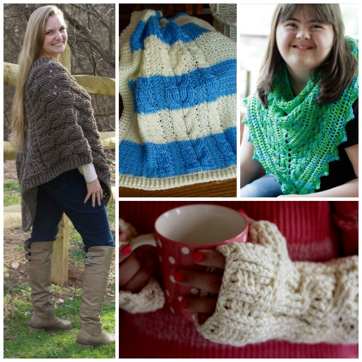Cable Crochet Made Easy by Bonnie Barker: Review and Giveaway on Moogly! Giveaway ends 12/18/17 at 12:15am central US time.