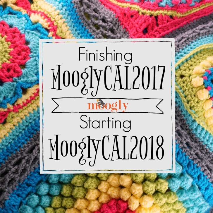 The MooglyCAL2017 is finished! Get all the patterns free and make your own... and get ready for 2018!