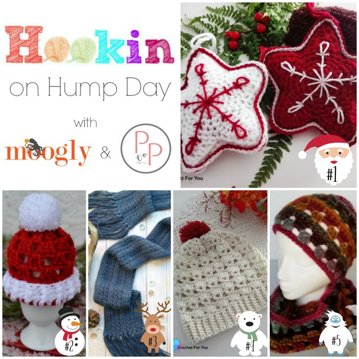 Hookin On Hump Day #157 - 5 FREE crochet patterns included!