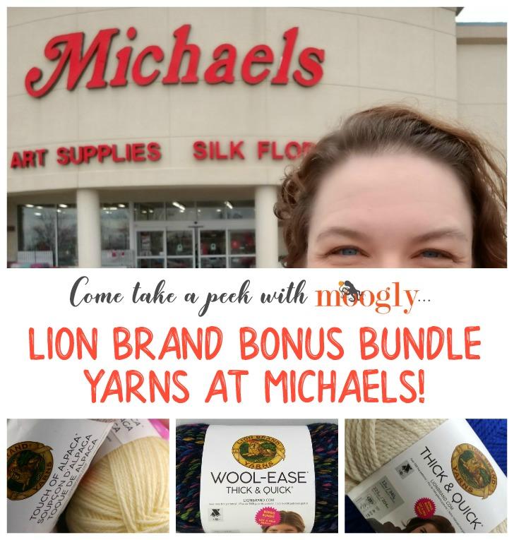 Lion Brand Bonus Bundles - Now at Michaels! - moogly