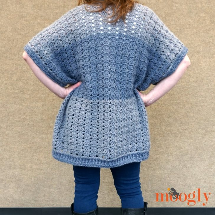 Riverbend Cardigan - free crochet pattern on Mooglyblog.com