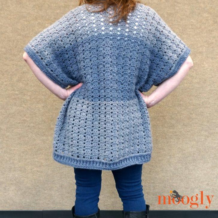 Riverbend Cardigan - free crochet pattern on Mooglyblog.com