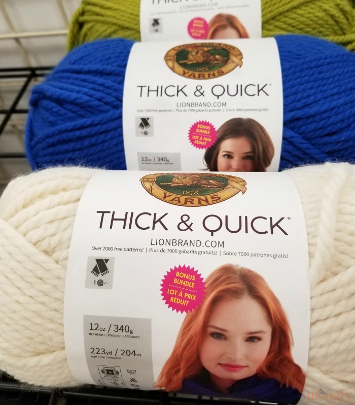 Lion Brand Thick & Quick Bonus Bundles - at Michaels and Lion Brand!