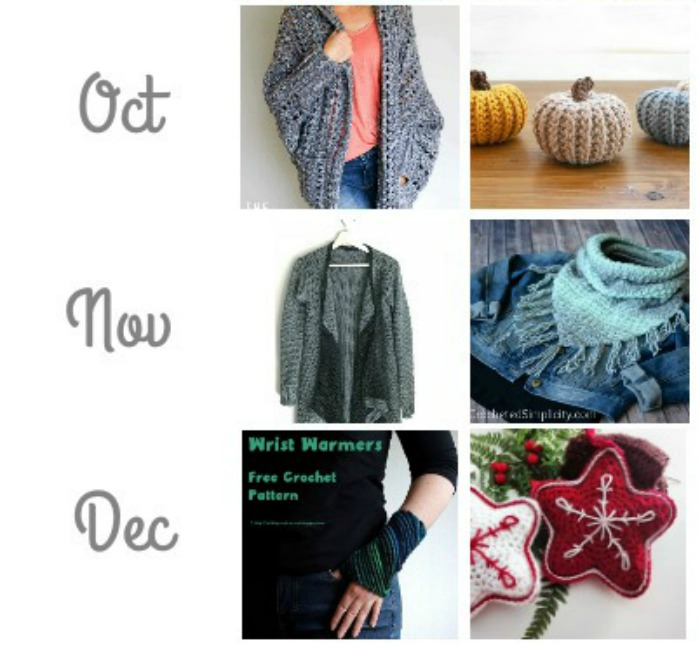 Best of Hookin On Hump Day 2017! See links to all these patterns on Moogly and Petals to Picots!