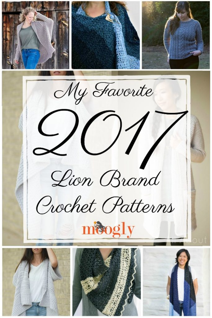 My Favorite 2017 Lion Brand Crochet Patterns - Moogly