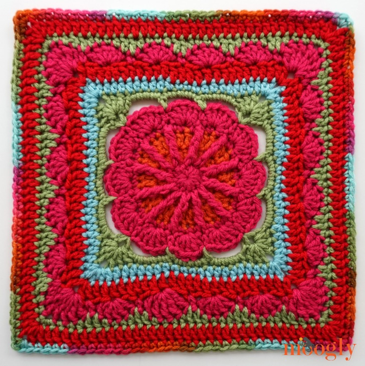 MooglyCAL2018 - Block #2, Gretchen Afghan Square