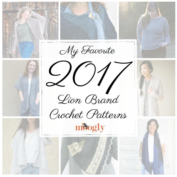 My Favorite 2017 Lion Brand Crochet Patterns - Moogly