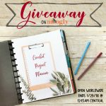 Printable Crochet Project Planner Giveaway