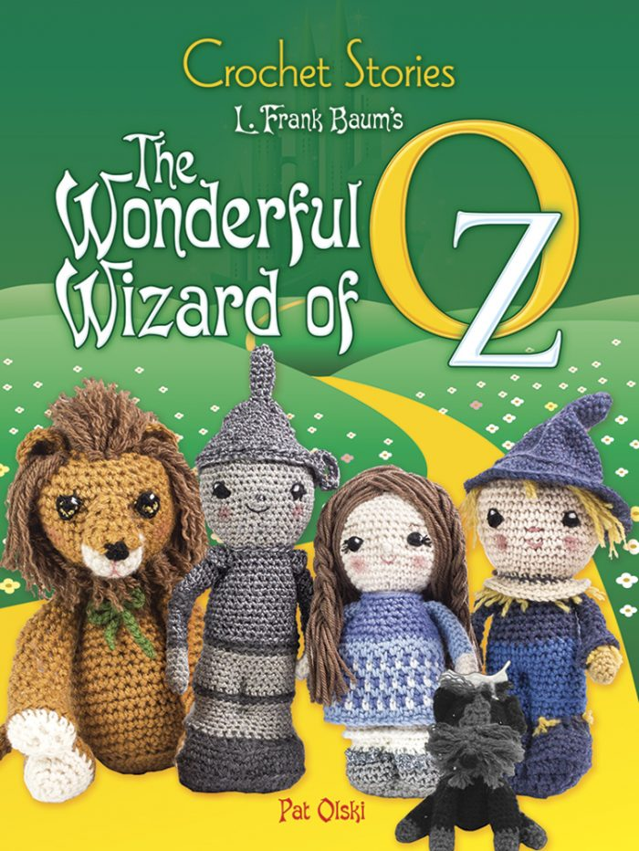Crochet Stories: The Wonderful Wizard of Oz & Peter Pan Giveaway on Moogly! Open to US & Canada, ends 1/29/18 at 12:15am Central.