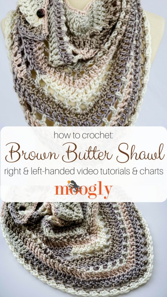 Brown Butter Shawl Tutorial - moogly
