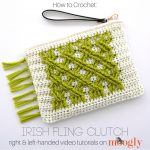 Irish Fling Clutch Video Tutorial on Moogly!