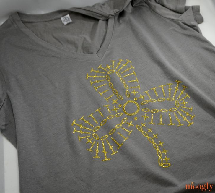 Quick Cricut Craft Diy Shamrock Crochet T Shirt Moogly