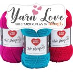 Yarn Love: Red Heart Chic Sheep by Marly Bird