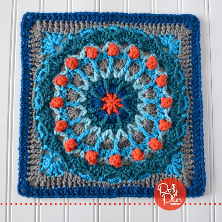 MooglyCAL2018 - Block #3, Clown Car Square by Polly Plum