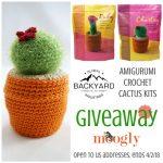 Amigurumi Crochet Cactus Kits Giveaway