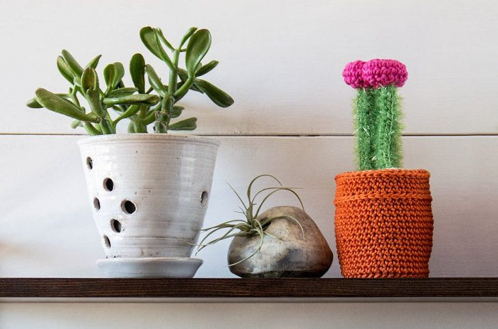 Ruby Crochet Cactus by Global Backyard Industries