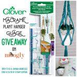 Clover Macrame Plant Hanger Gauge Giveaway!