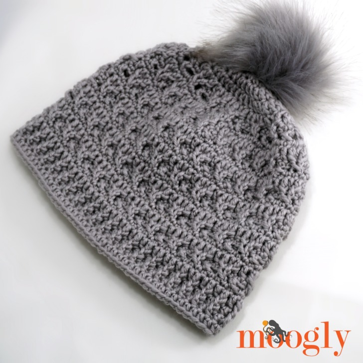 Final Frost Beanie - free crochet pattern on Moogly! Featuring Red Heart Chic Sheep by Marly Bird ♥