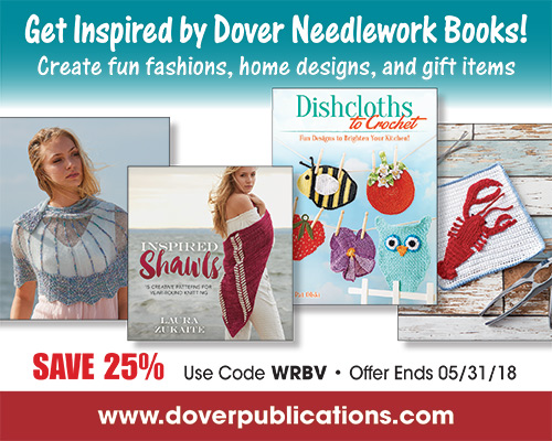 Get 25% off on Dover Books!