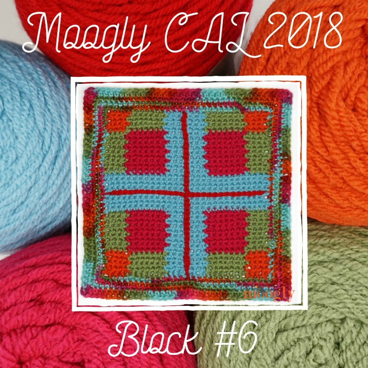 MooglyCAL2018 Block #6, courtesy of Hooked For Life