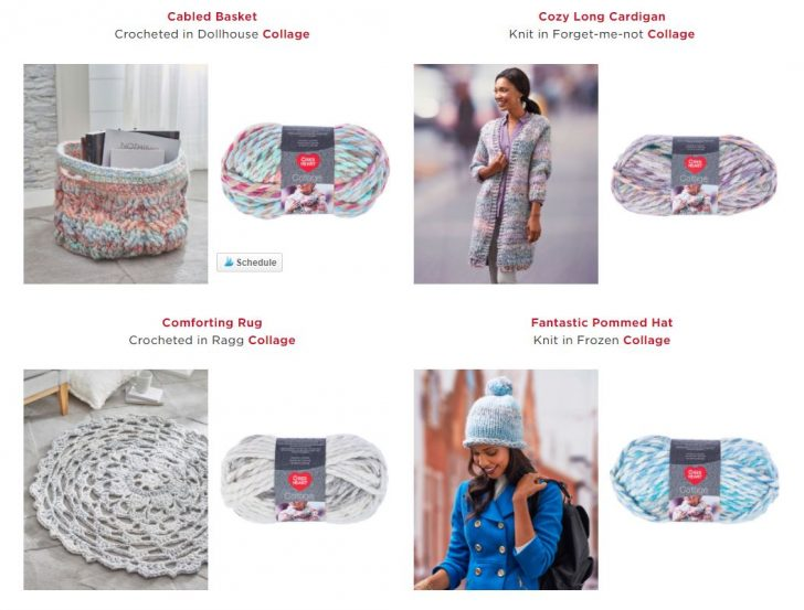 Yarn Love: Learn about Red Heart Collage on Moogly!