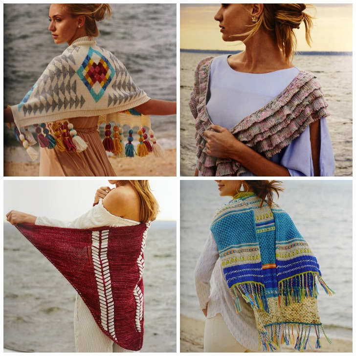 Inspired Shawls - review on Moogly!