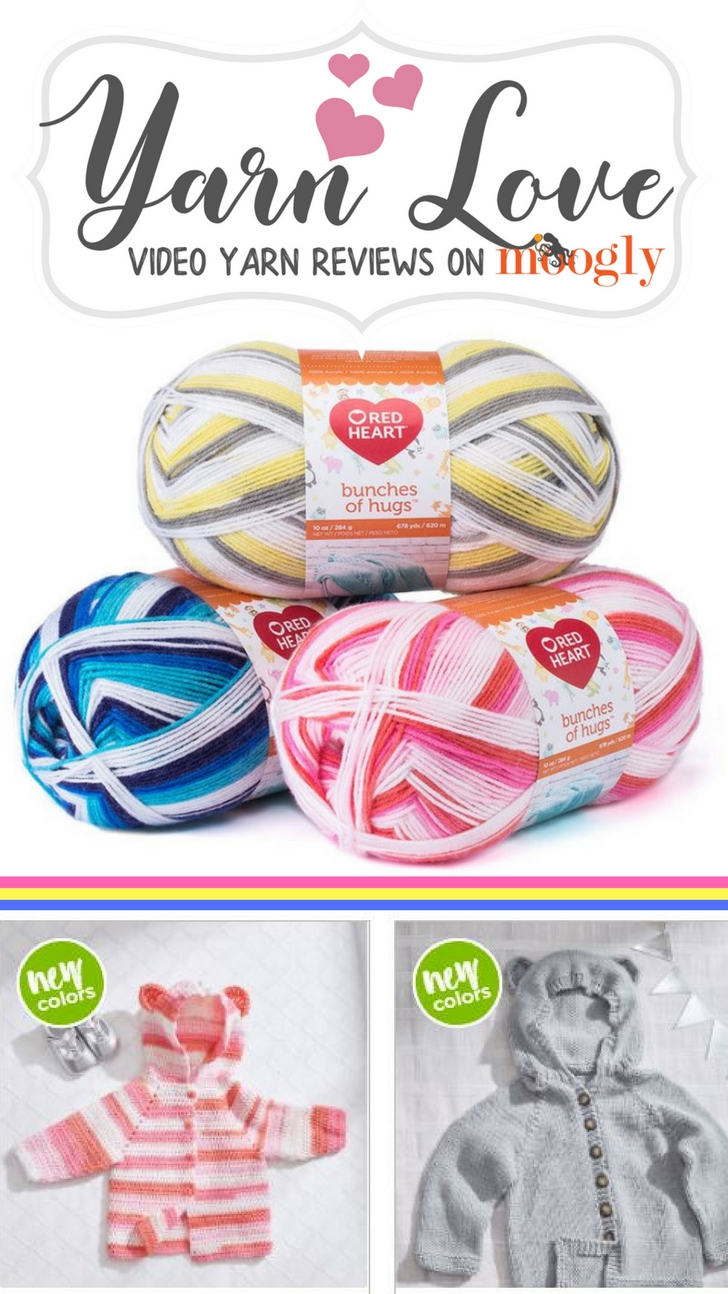 Yarn Love with Moogly: Red Heart Bunches of Hugs!