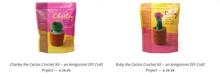 Global Backyard Industries - Crochet Amigurumi Cactus Kits!