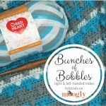 Bunches of Bobbles Blanket Tutorial
