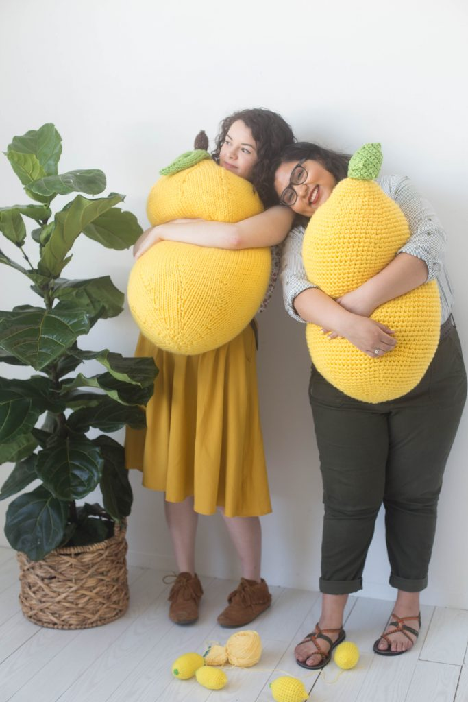 #StitchAwayStress with the Craft Yarn Council! Free crochet and knit patterns available!