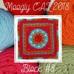Moogly CAL 2018 – Afghan Block #8