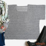 Saturday Sweater - free crochet pattern in 8 sizes! Made with Red Heart Fashion Soft, get the pattern on Moogly!!