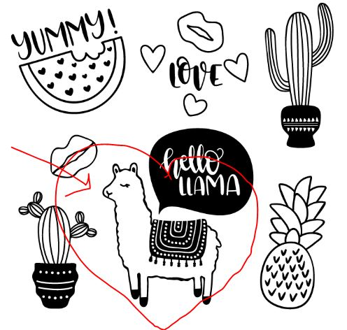 Get this free cut file from LoveSVG.com to make the No Prob-Llama Tote Bag on Moogly!