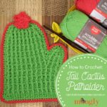 Tall Cactus Potholder Tutorial