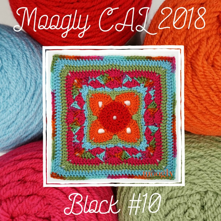 MooglyCAL2018 Block #10, courtesy of Cre8tion Crochet