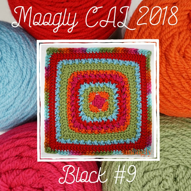 MooglyCAL2018 Block #9, courtesy of Beatrice Ryan Designs!
