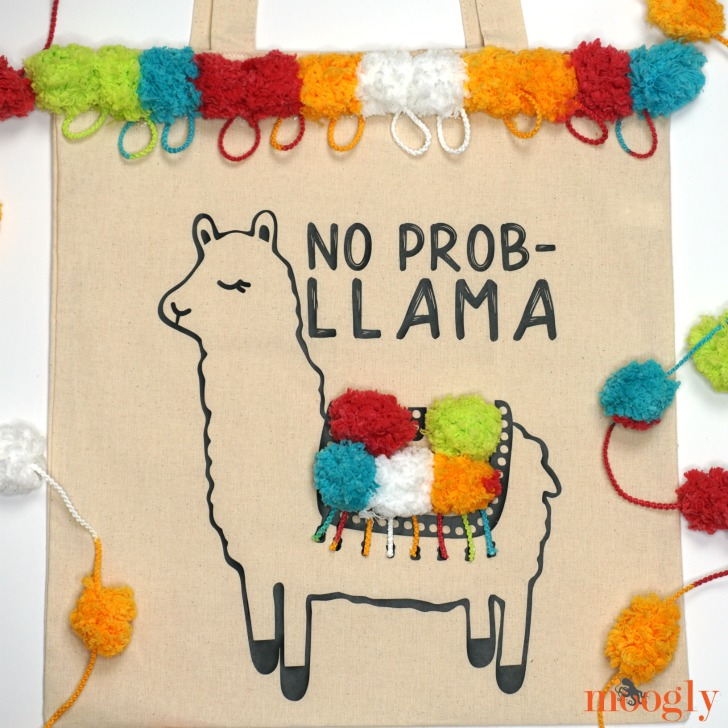 No Prob-Llama Tote Finished Bag