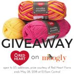 Red Heart Scrubby Smoothie Giveaway